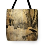 Aged Infrared Tote Bag