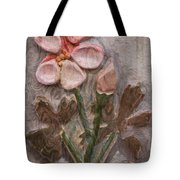 Aged Pink Beauty Tote Bag