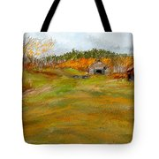 Aged With Character-farm Life Tote Bag