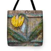 Aged Yellow Brilliance Tote Bag