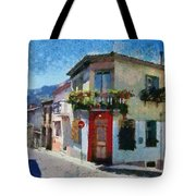 Agiassos Village Tote Bag