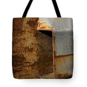 Aging With Rust Tote Bag
