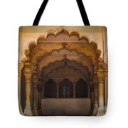 Agra Fort Arches Tote Bag