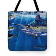 Agressor Off00140 Tote Bag by Carey Chen