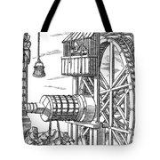 Agricola Water Pump, 1556 Tote Bag
