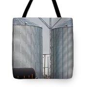 Agricultural Grain Silos Exterior Railway Wagon Tote Bag