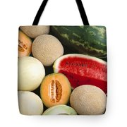 Agriculture - Mixed Melons, Watermelon Tote Bag