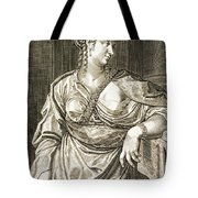 Agrippina Wife Of Tiberius Tote Bag