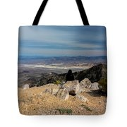 Aguereberry Point View Of Death Valley #4 Tote Bag