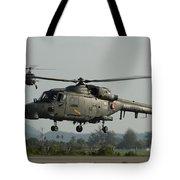 Agustawestland Lynx Helicopters Tote Bag