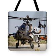Ah-64d Apache Longbow Of The Royal Tote Bag