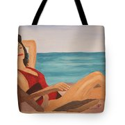 Ah The Smell Of The Sea Tote Bag