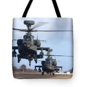 Ah64d Apache Longbow Helicopters  Tote Bag