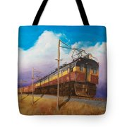 Ahead Of The Weather Tote Bag