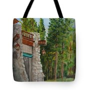 Ahwahnee Woods Tote Bag