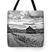 Ah...west Virginia Oil Bw Tote Bag