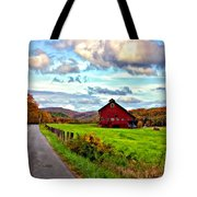 Ah...west Virginia Painted Tote Bag