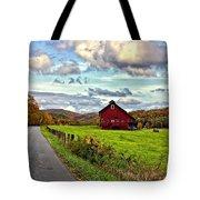 Ah...west Virginia Tote Bag by Steve Harrington