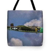 Air Apaches B-25j Tote Bag