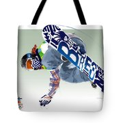 Air Born For Gold Tote Bag