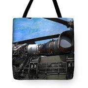 Air - Helicopter - Ch-54 Skycrane - Tarhe  Tote Bag