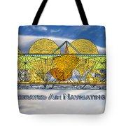 Air Navigating Machine Tote Bag