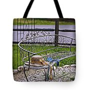 Air Of Elegance Tote Bag
