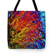Air Plant On Fire Tote Bag