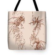 Air Plants In Sepia Tote Bag