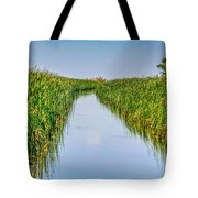 Airboat On The Mobile Delta Tote Bag