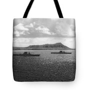 Aircraft Carriers In Hawaii Tote Bag