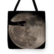 Aircraft Silhouette Tote Bag