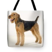 Airedale Terrier Dog Tote Bag