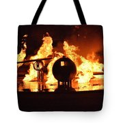 Airforce Fire Deparment Training Tote Bag