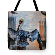 Airing Out Tote Bag by Shannon Harrington