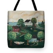 Airing Out The Quilts Tote Bag