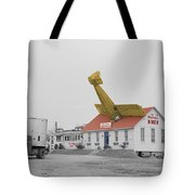 Airplane Diner Tote Bag