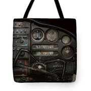 Airplane - Piper Pa-28 Cherokee Warrior - A Warriors View Tote Bag