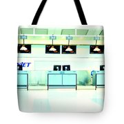 Airport Counters Tote Bag