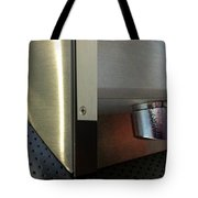 Airport Diptych Tote Bag