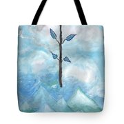 Airy Ace Of Wands Tote Bag