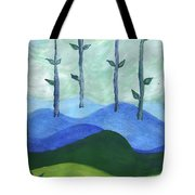 Airy Four Of Wands Tote Bag