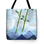 Airy Two Of Wands Tote Bag