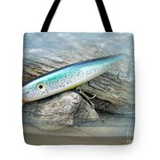 Ajs Baby Weakfish Saltwater Swimmer Fishing Lure Tote Bag