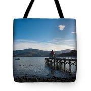 Akaroa Harbour  Tote Bag