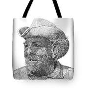 Cowboy Al Holman  Tote Bag