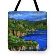Al Mafi Coast Italy Tote Bag