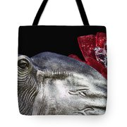 Alabama Football Mascot Tote Bag by Kathy Clark