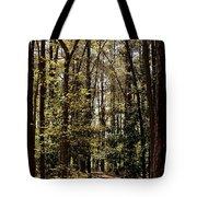 Alabama Woodlands In Spring 2013 Tote Bag