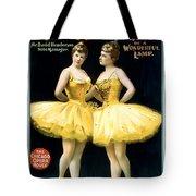 Aladdin Jr Ballerinas Tote Bag